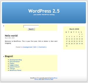 WordPressウィジェット